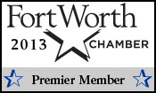 Fort Worth Chamber of Commerce Premier Member 2013